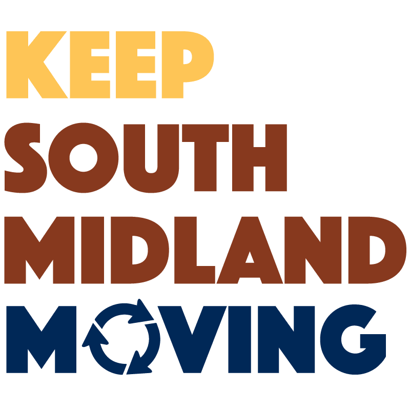 Keep South Midland Moving logo