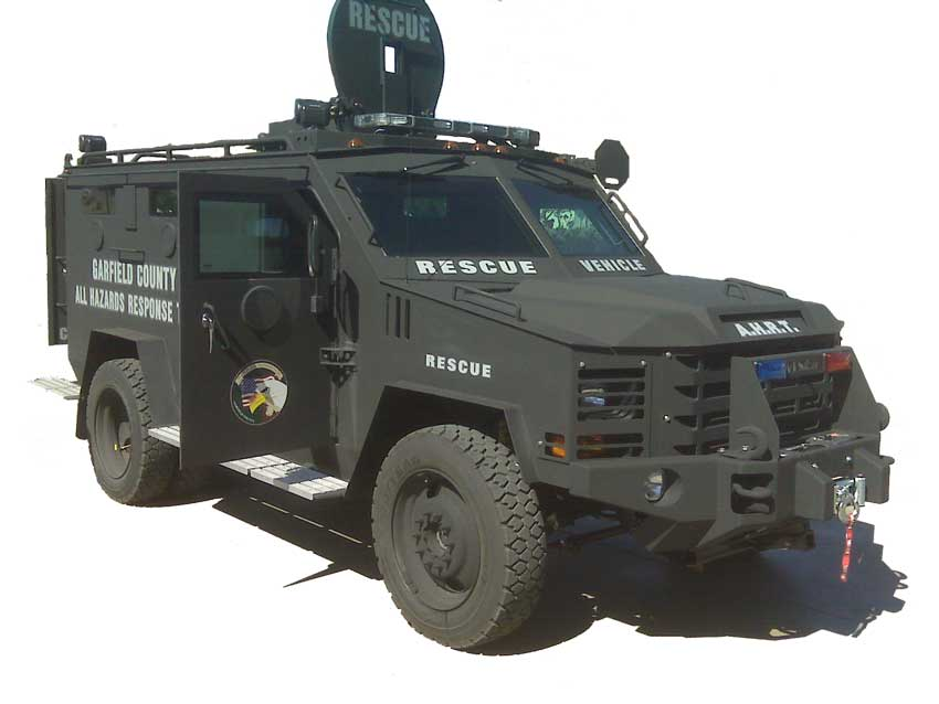 All Hazards Response Team Tactical Vehicle